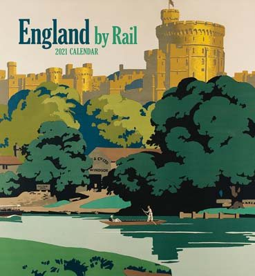 England by Rail Wall Calendar 2021