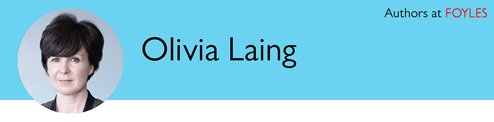 Olivia Laing author banner