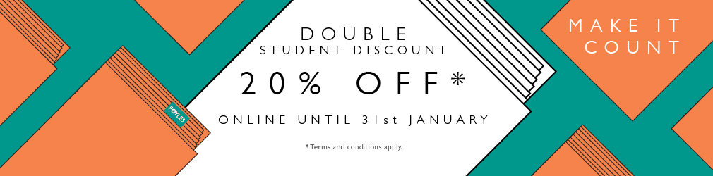 Back to University - Student Discount