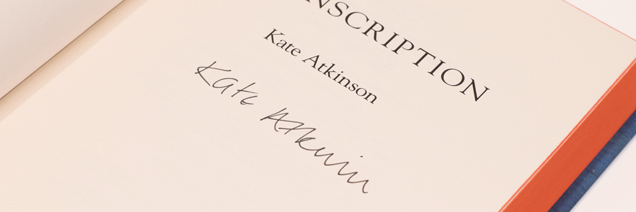 Kate Atkinson, Transcription special edition