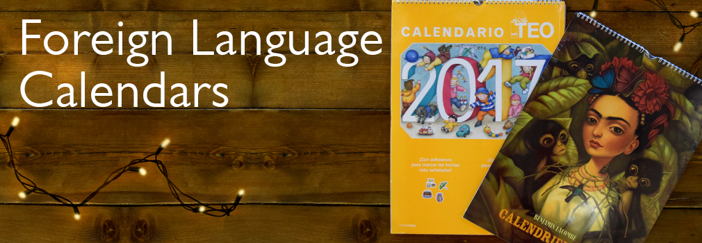 Foreign Language Calendars