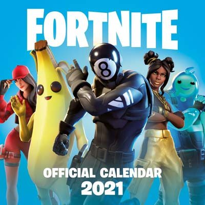 Fortnite Wall Calendar 2021