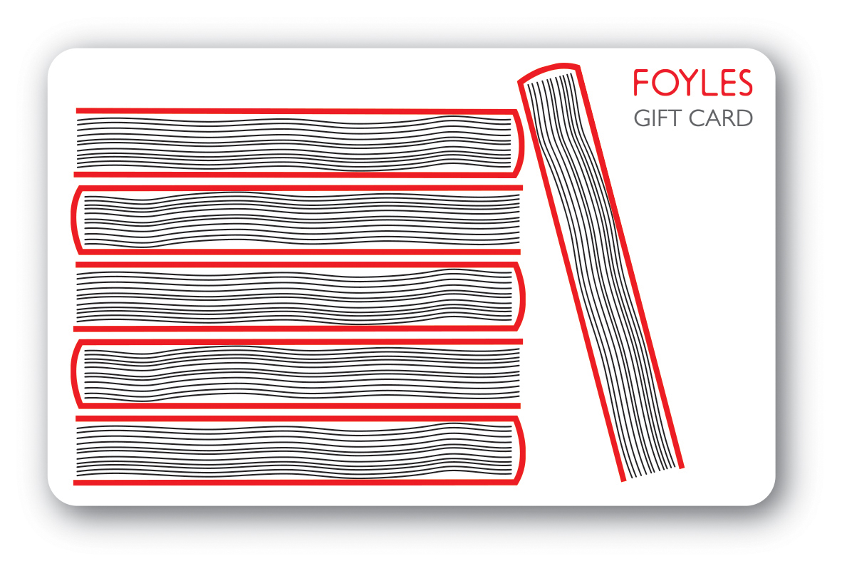 Foyles Gift Card Books design
