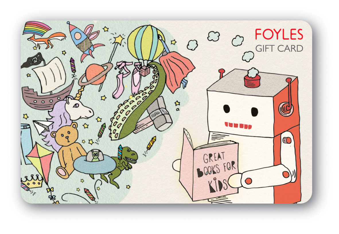 Foyles Gift Card Kids design