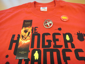 The Hunger Games prizes