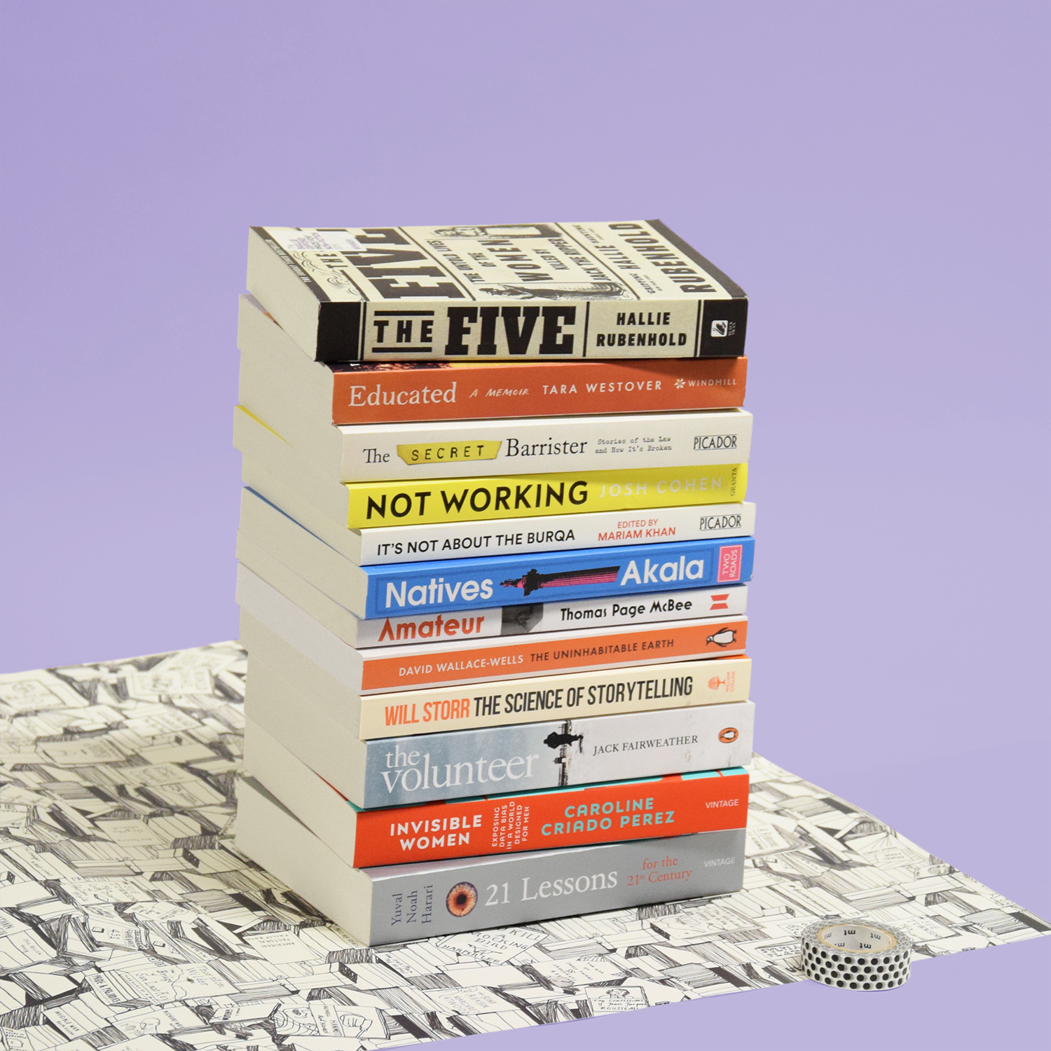 AYOB PB NonFiction Stack