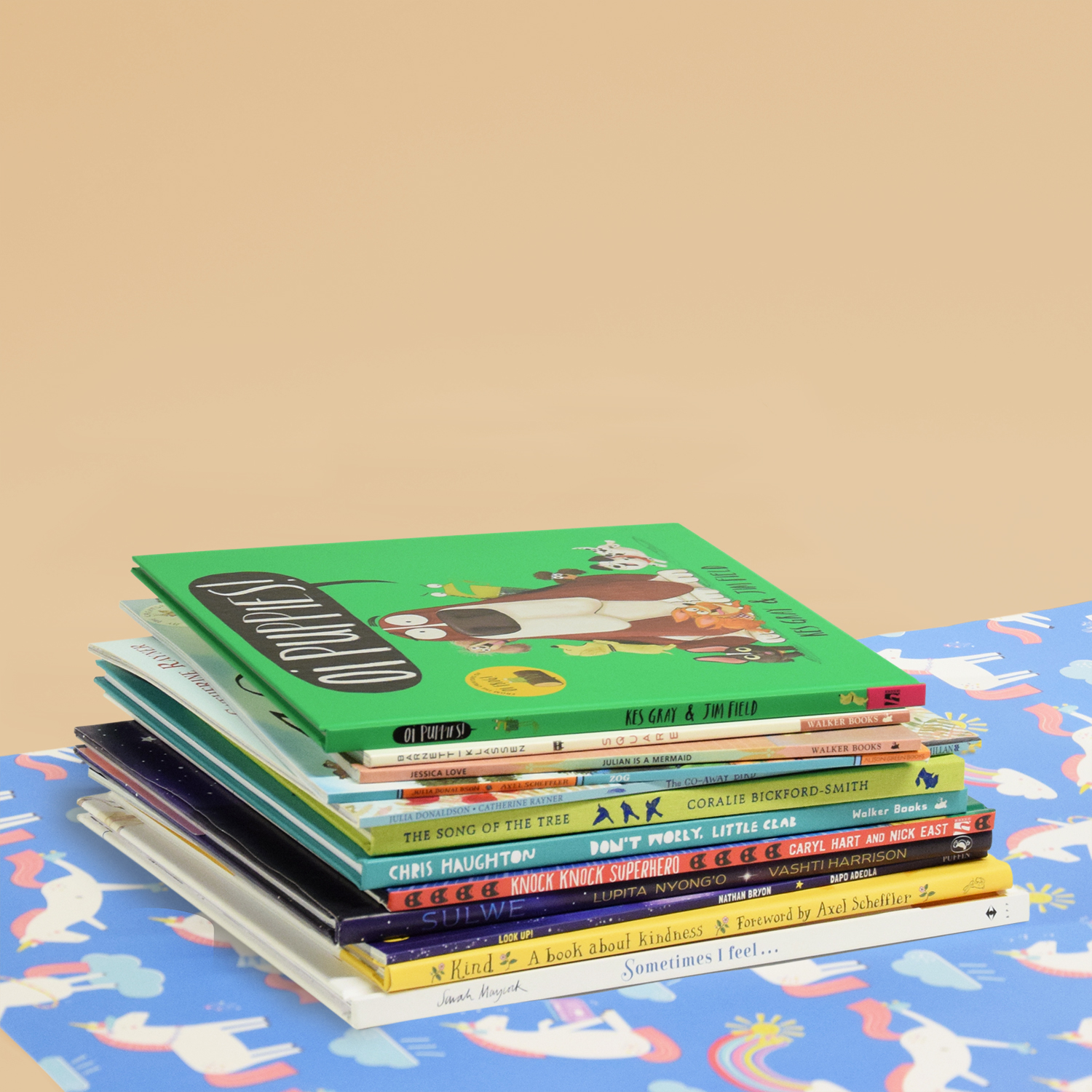 AYOB Children's Picture Books Stack