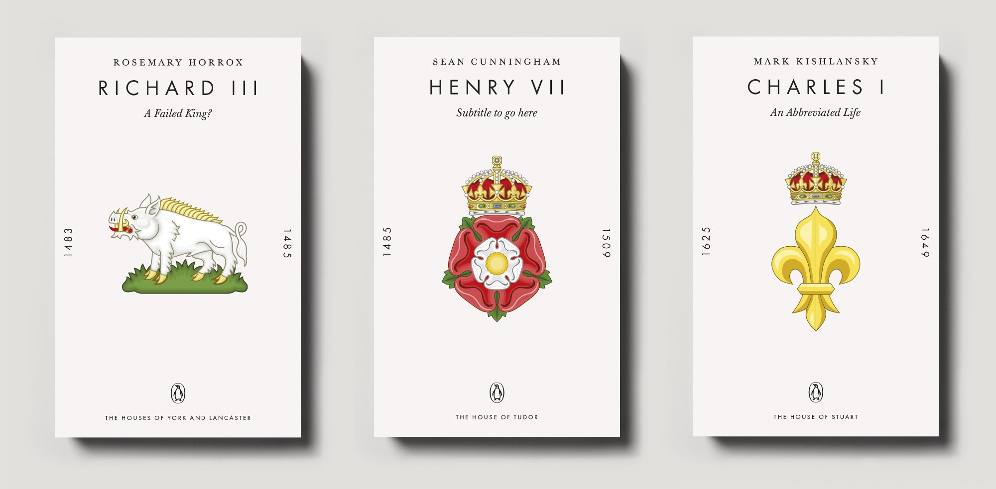 Second Prototype Covers For Penguin Monarchs Paperback Series