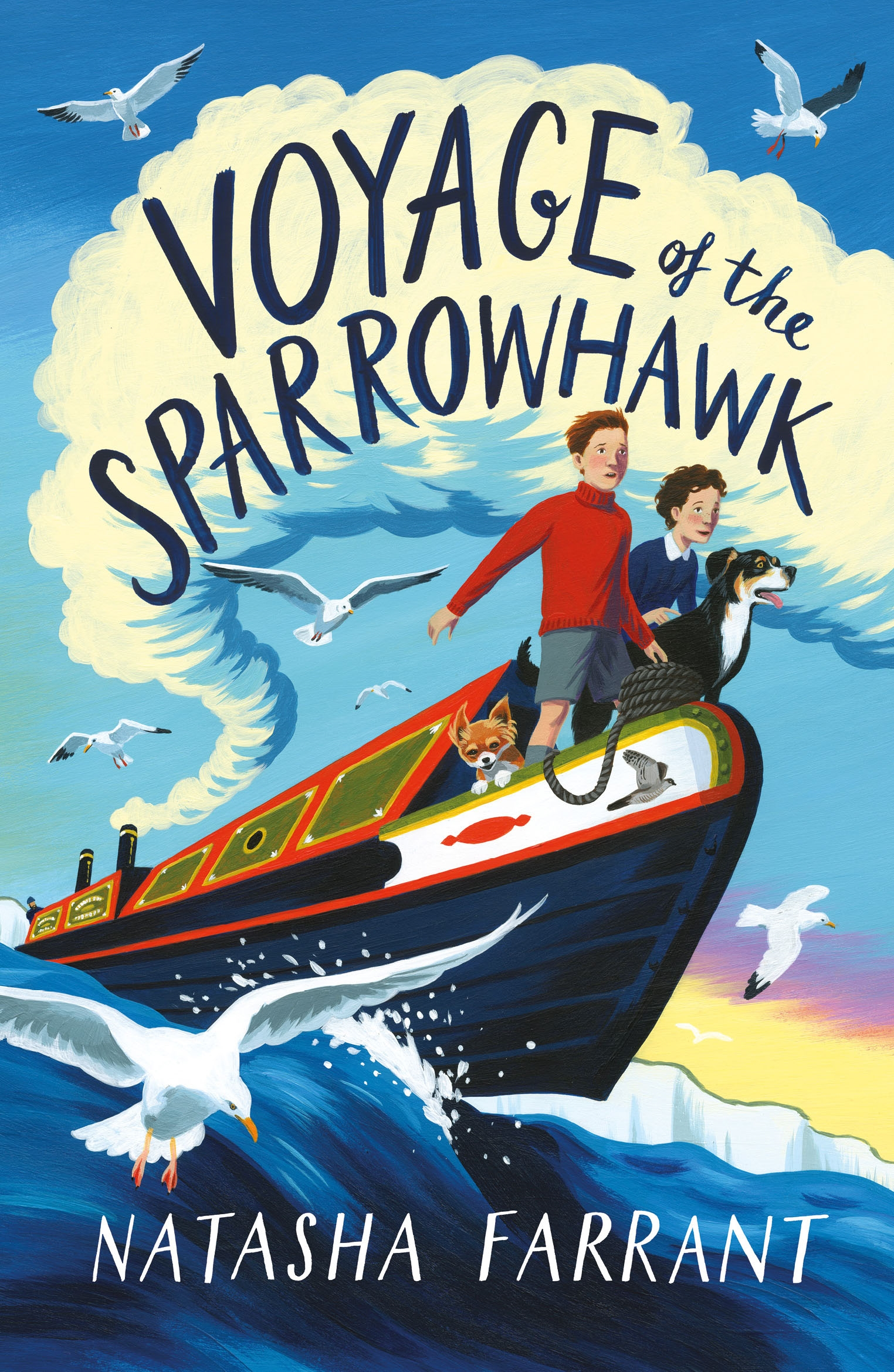 The Voyage of the Sparrowhawk by Natasha Farrant