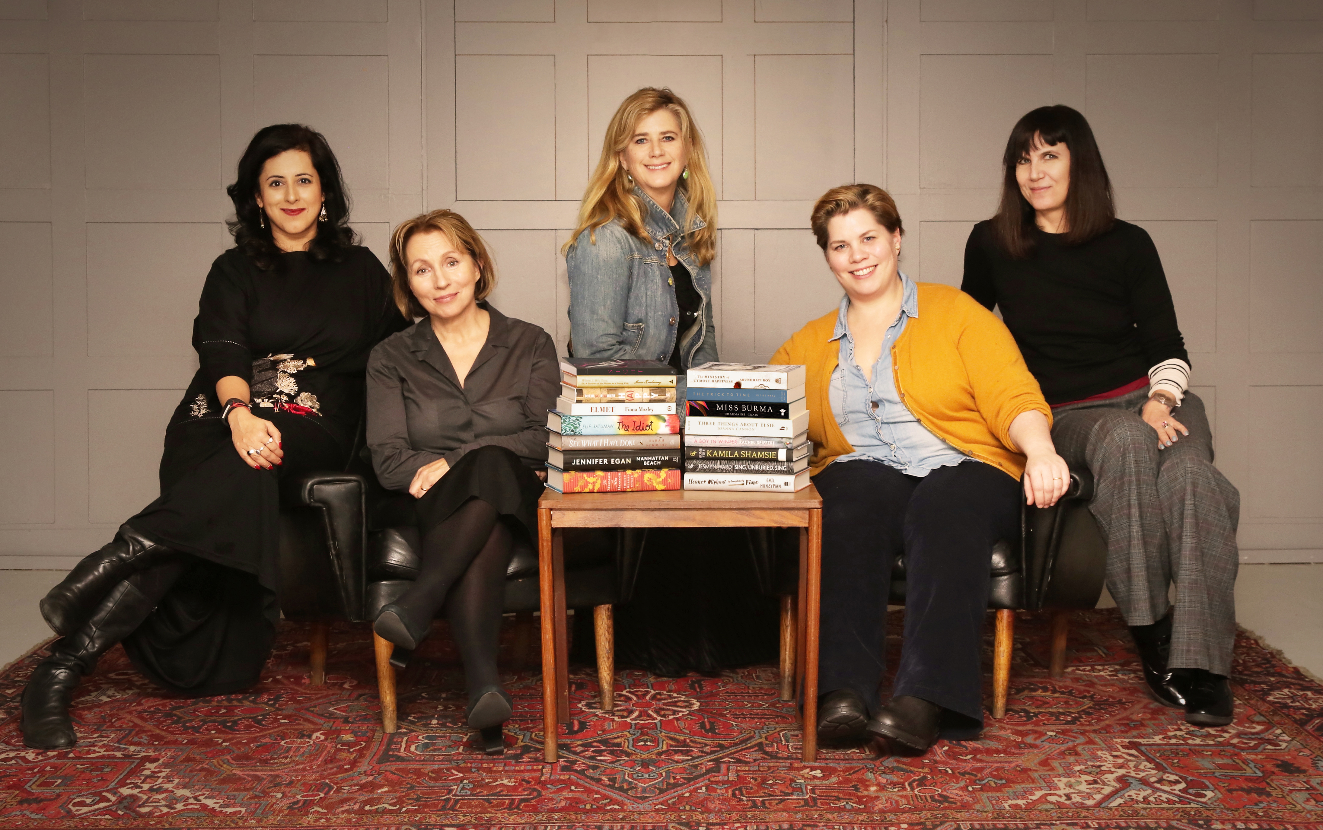 Women's Prize for Fiction 2018 Judges and Longlist