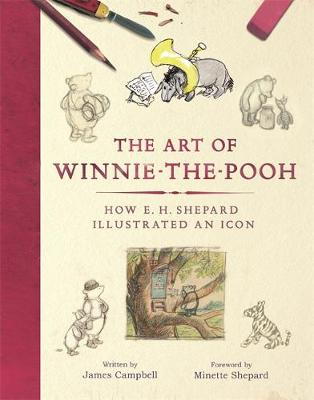 Cover of  The Art of Winnie the Pooh