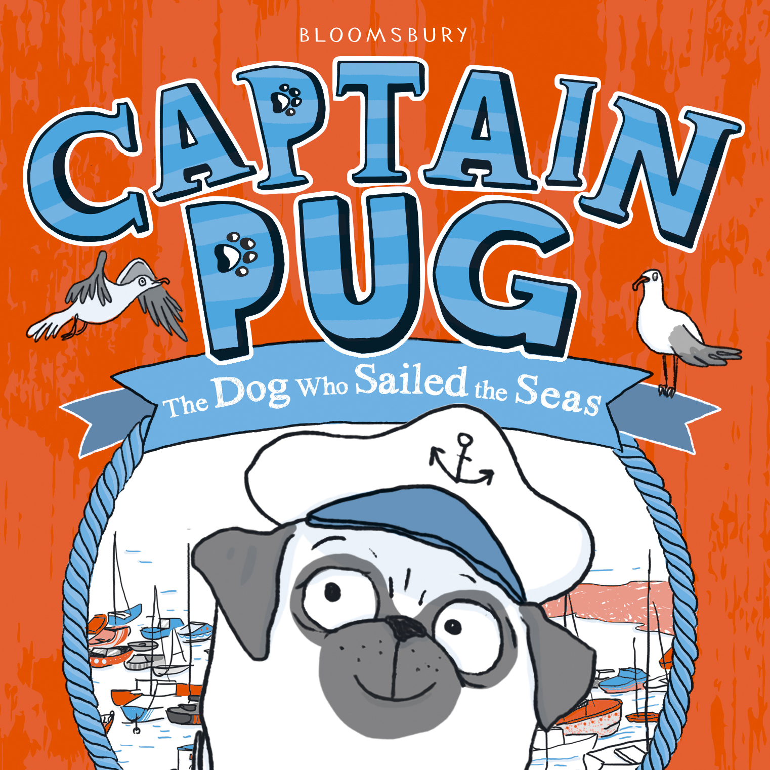 Create a Story with Captain Pug Author, Laura James