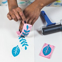 Print Making for Kids with Zeena Shah