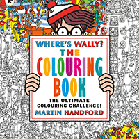Where's Wally Picnic, Games and Colouring Wall