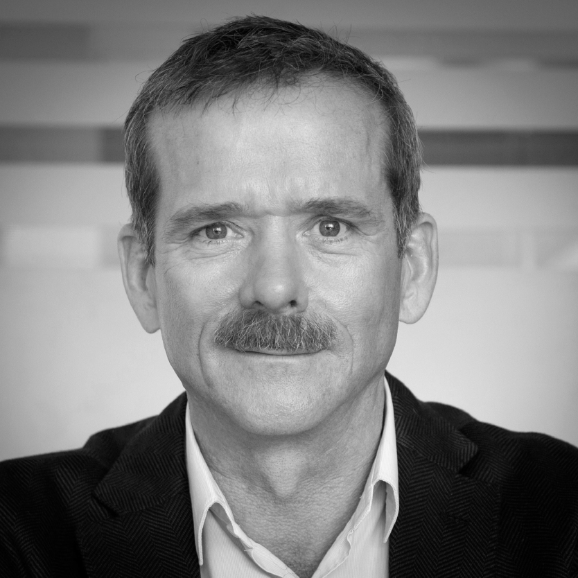 Chris Hadfield: Lunchtime signing