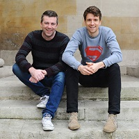 Greg James and Chris Smith: 'Kid Normal' signing
