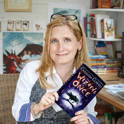 The Wizards of Once: Cressida Cowell signing