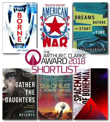 The Arthur C. Clarke Award Ceremony 2018