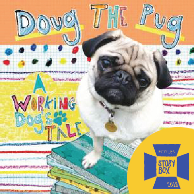 Doug the Pug Therapy Dog Reading Session