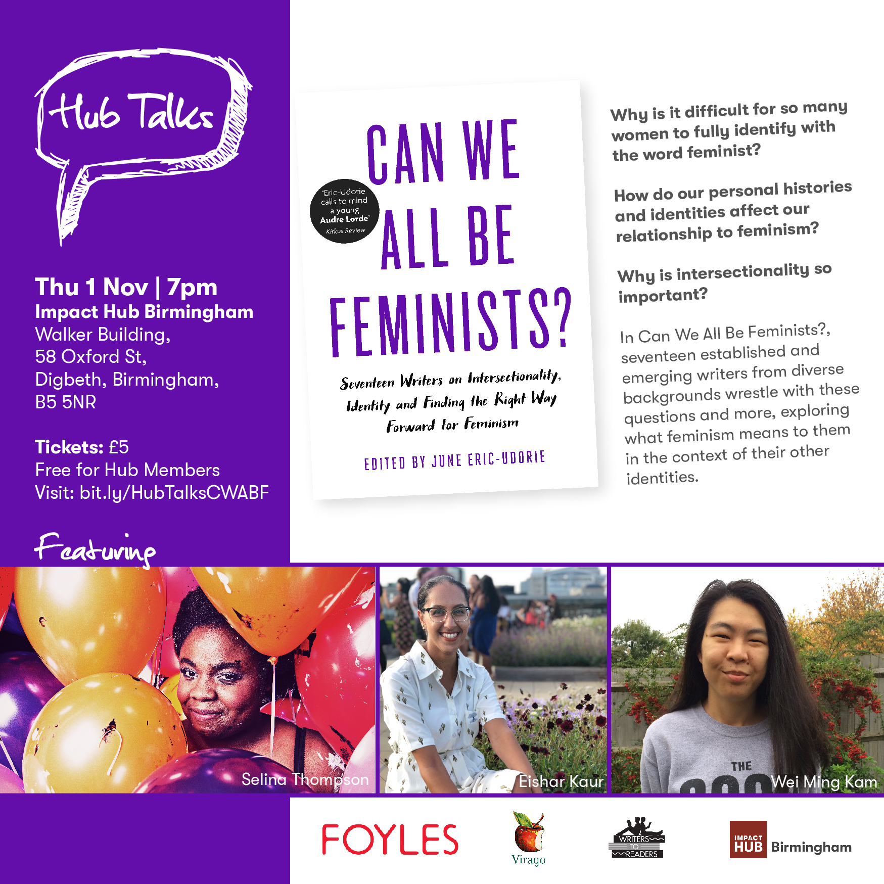 Hub Talks: Can We All Be Feminists?