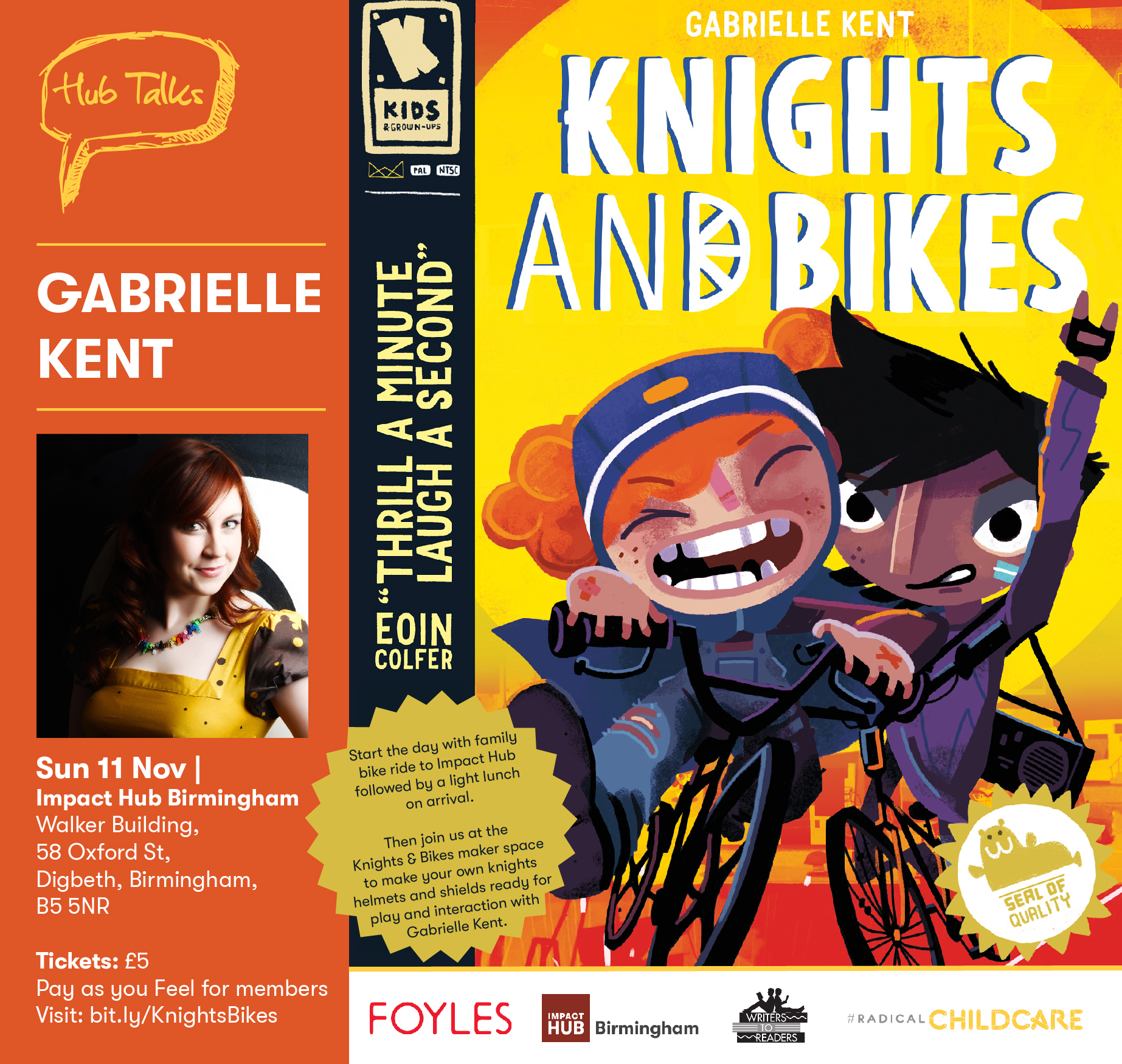 Hub Talks: Knights and Bikes!