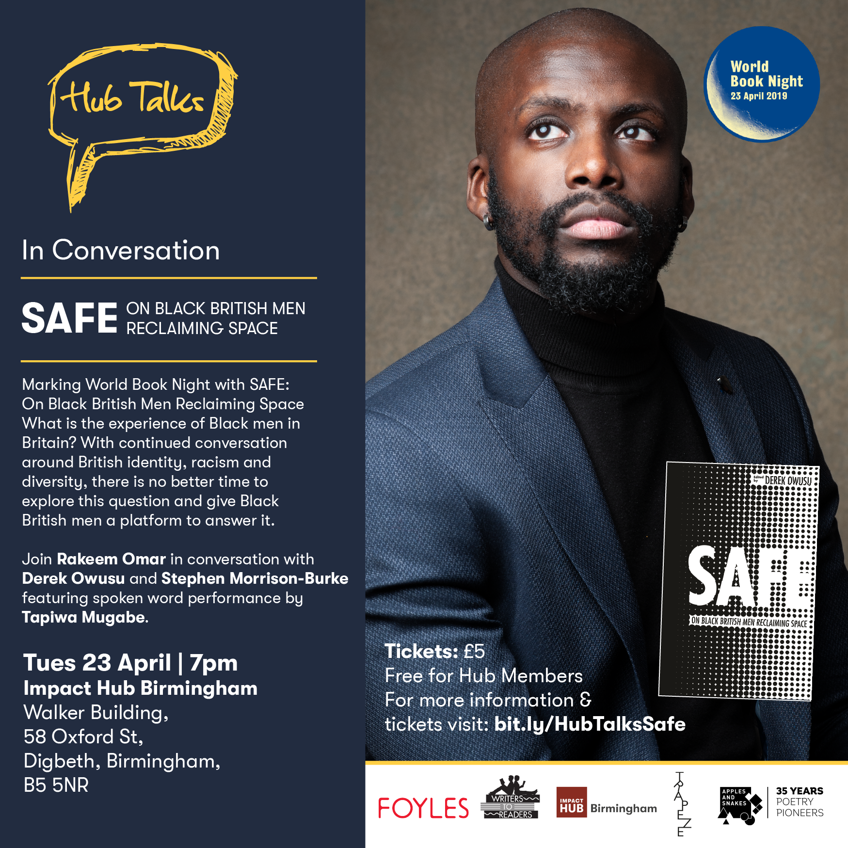 HubTalks: SAFE: On Black British Men Reclaiming Space