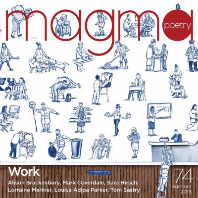 Magma Poetry: The Work Issue - Bristol Launch Event