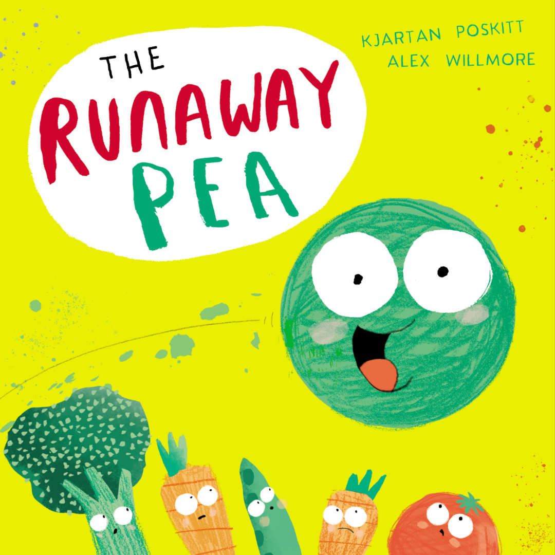 The Runaway Pea - Window Painting with Alex Willmore