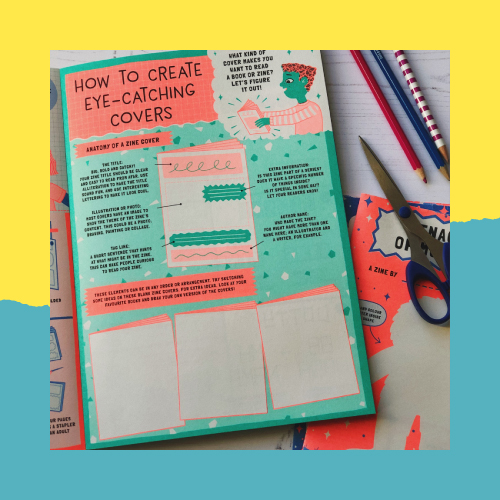 Read All About It: Create Your Own Zine Activities