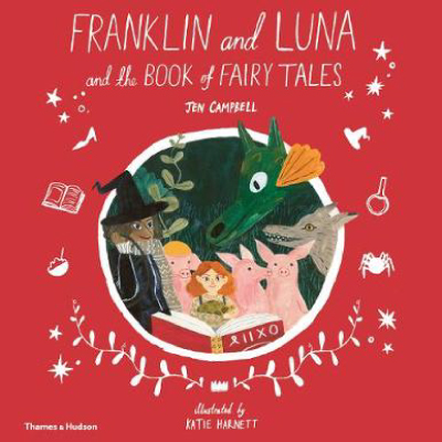 Franklin and Luna and the Book of Fairy Tales Window Painting with Katie Harnett