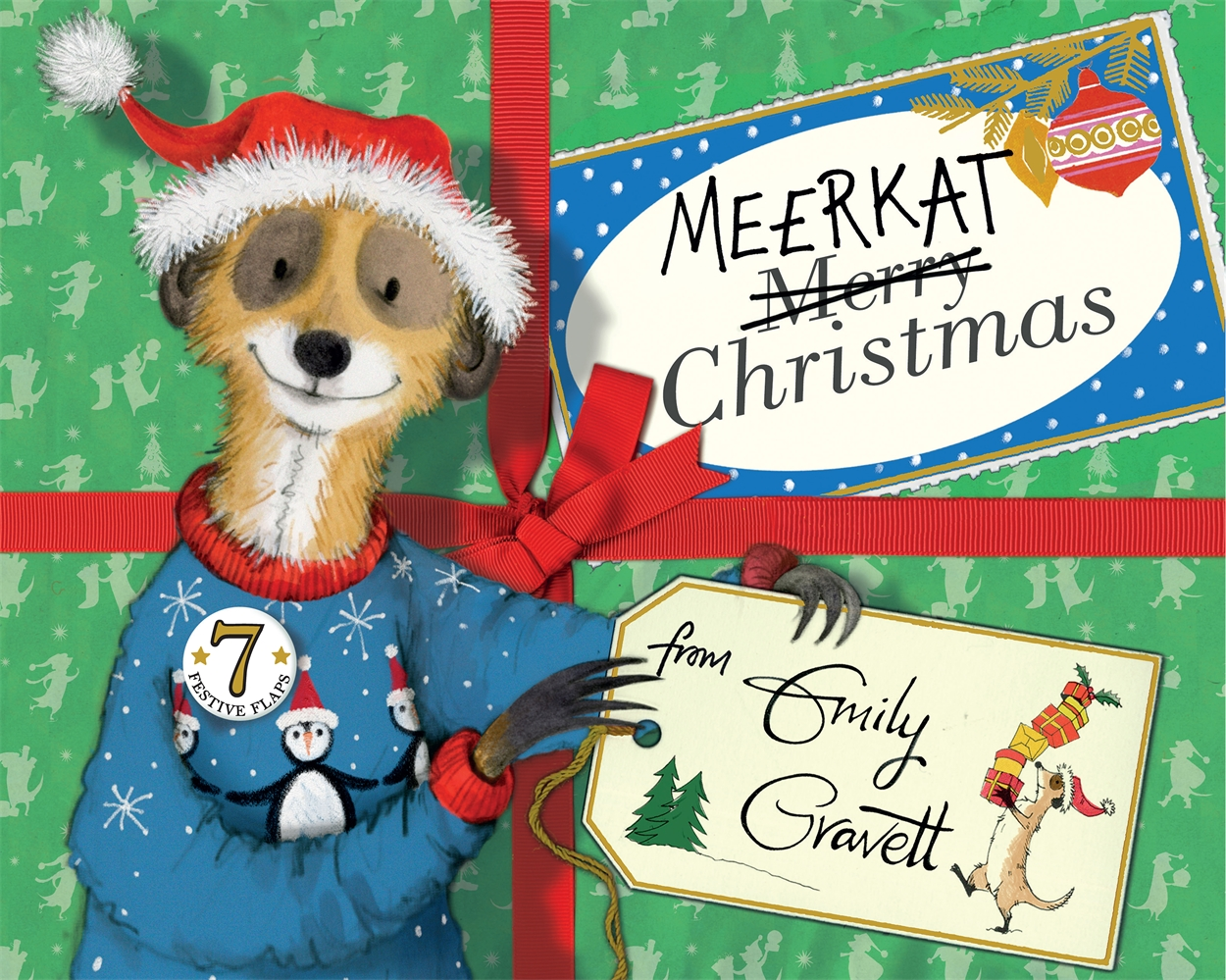 Meerkat Christmas: Window Painting with Emily Gravett