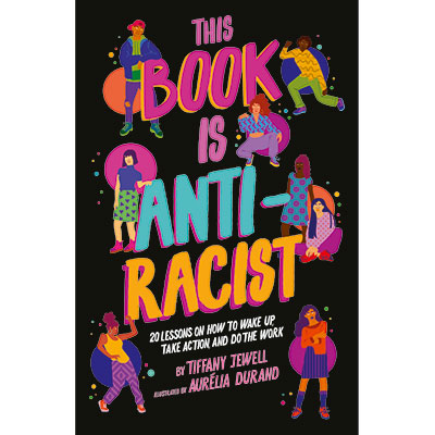 This Book Is Anti-Racist: Window Painting with Aurélia Durand
