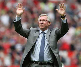 Fergie at Old Trafford