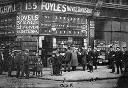Archive photo of the Foyles store
