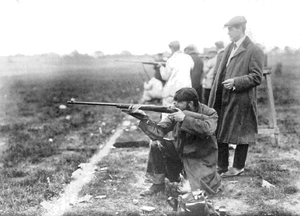 Olympic shooting in 1908