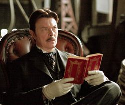 David Bowie as Nikola Tesla in The Prestige