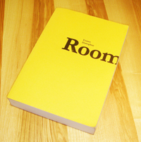 Proof copy of Room by Emma Donoghue