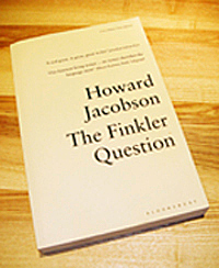 Proof copy of The Finkler Question by Howard Jacobson